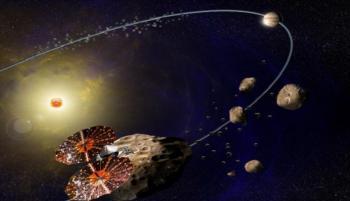 ناسا ترسل أول مسبار لدراسة كويكبات المشتري