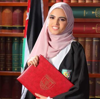 المهندسة مريم عدنان الكسواني ..  مبارك التخرج