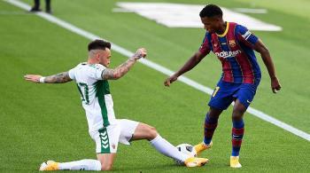 صحيفة: برشلونة رفض عرضا بـ 150 مليون يورو لضم أنسو فاتي