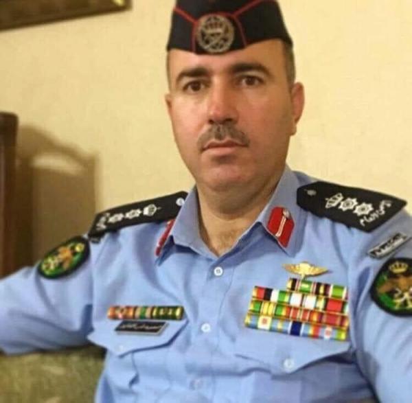 العقيد محمود نمر جديع الفايز