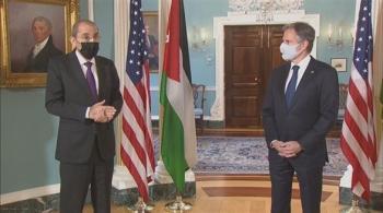 الصفدي يتلقى اتصالا من نظيره الأمريكي ..  واتفاق على ضرورة تحقيق الهدوء