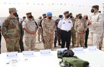 القوات المسلحة تتسلم أجهزة ومعدات من الوكالة الأميركية DTRA