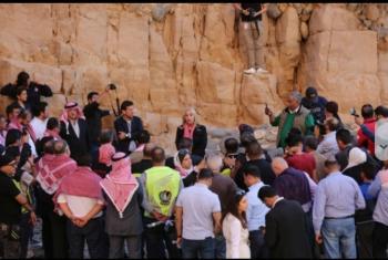 احياء ذكرى شهداء فاجعة البحر الميت (صور)