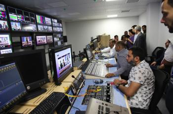 التلفزيون الأردني ينتقل الى تقنية الـ HD (صور)