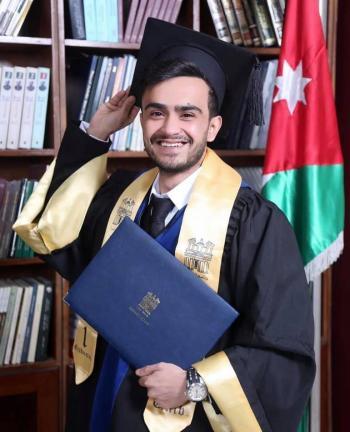 صلاح سالم ابو هديب مبارك التخرج
