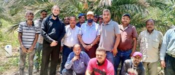 مدير مؤسسة المتقاعدين العسكريين يزور مزرعتي أسماك الباقورة والمنشية