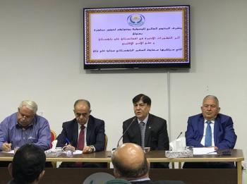 السفير الباكستاني يحاضر في منتدى الوسطية حول افغانستان