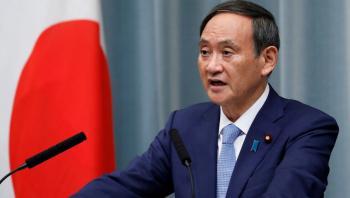 كبير أمناء مجلس الوزراء الياباني ينضم لسباق رئاسة الحكومة