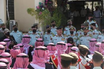 الحنيطي يزور قيادة موسيقات القوات المسلحة الأردنية