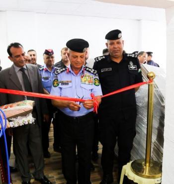 جمعية متقاعدي الأمن العام تفتتح مصنعا لصناعة الكاسات الكرتونية