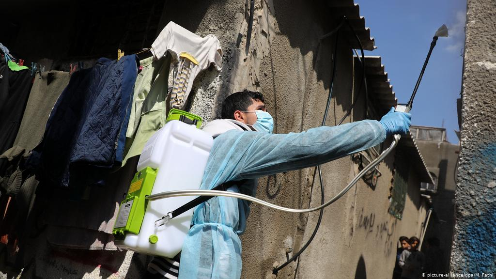 غزة: 90 اصابة جديدة بفيروس كورونا
