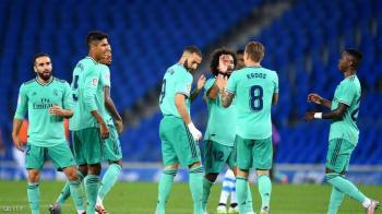 جدول المباريات يمنح ريال مدريد الفرصة الذهبية لتحقيق اللقب