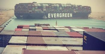 الشركة اليابانية مالكة السفينة الجانحة في قناة السويس تعتذر