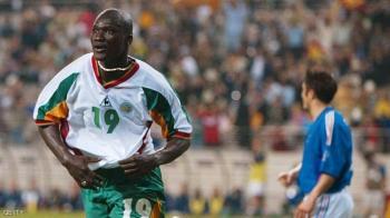 وفاة نجم السنغال قاهر الديوك في مونديال 2002