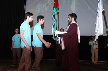النظم الحديثة تحتفل بتخريج طلاب الفوج الثاني عشر