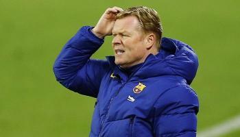 كومان يفقد أعصابه بسبب مستقبله مع برشلونة