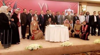 الجالية الاردنية في الكويت تحتفل بعيد الاستقلال