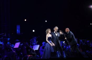 زين راعي الاتصالات الحصري لحفل أسطورة الأوبرا Andrea Bocelli