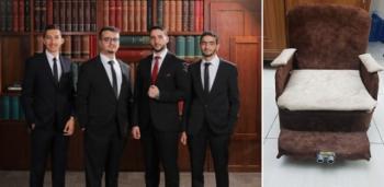 المهندسين تكرم طلبة عمان الاهلية مبتكري كرسي كهربائي لذوي الاحتياجات الخاصة