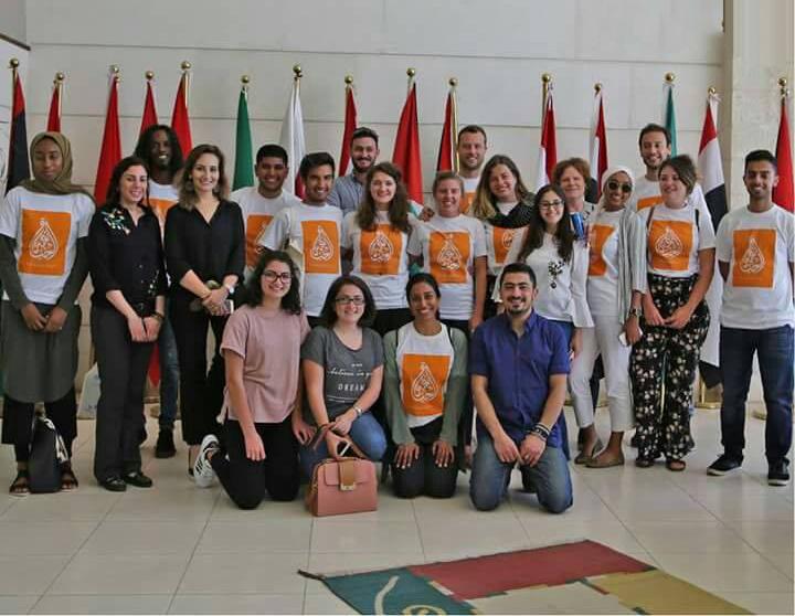 الشرق الأوسط تستضيف طلبة جامعة SOAS البريطانية