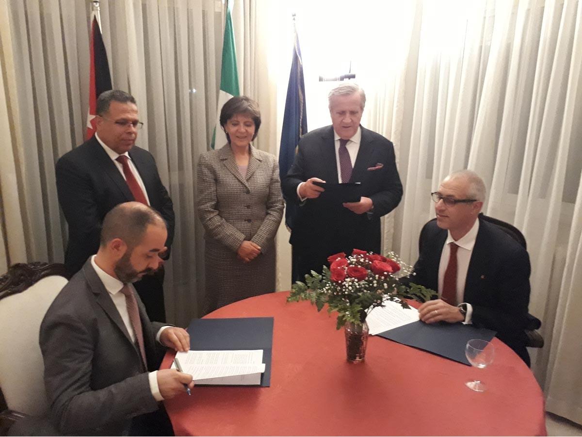 إطلاق مشروع ائتلاف البعثات الأثرية الإيطالية في الأردن