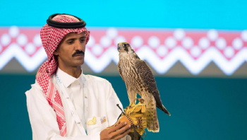 بيع 4 صقور بـ339 ألف ريال في مزاد سعودي (فيديو)