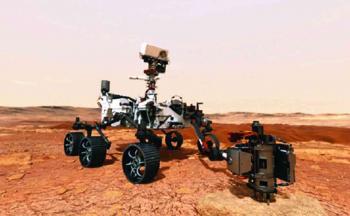 أول مركبة تسجل صوت «الكوكب الأحمر»