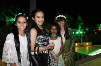 حفل عشاء لسيدات المجتمع في السفارة السعودية