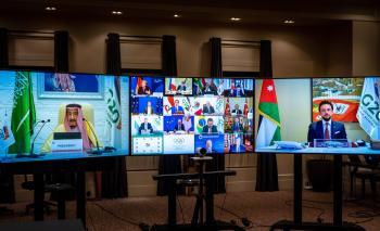 ولي العهد يشارك في الجلسة الختامية لقمة قادة دول مجموعة العشرين