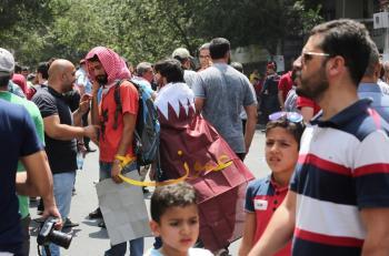 الشعب الاردني يهبّ نصرة للأقصى (صور)