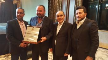 جوائز بيروت الذهبية تكرم الاعلامي سعد سيلاوي