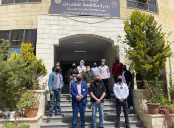 جامعة الشرق الأوسط MEU تنظم زيارة إلى مركز علاج الإدمان التابع لإدارة مكافحة المخدرات