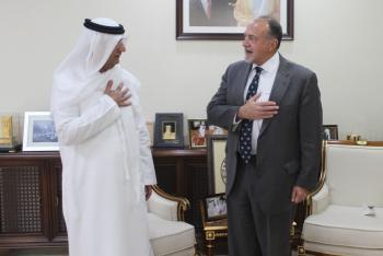 السفير الإماراتي في الأردن يلتقي السفير الأمريكي