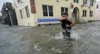 طريقة مبتكرة لحماية المنشآت الحيوية من الفيضانات ..  فيديو