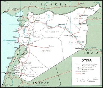 سوريا الالغام حدودها الاردن ولبنان