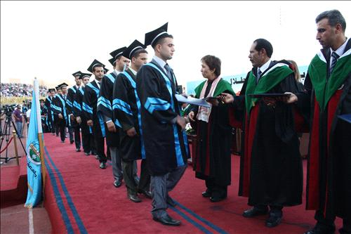 الفوج الخامس عشر من طلبة جامعة الزرقاء