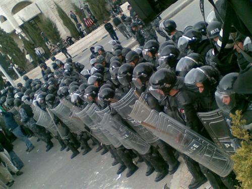 الدرك اعتصام الطفايلة عمان