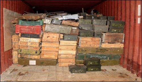 كميات كبيرة الاسلحة والذخائر طريقها 201381223RN597.jpeg