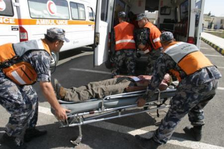 وفاة شخص واصابة اخر اثر حادث تصادم في الزرقاء